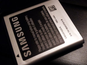 Sprint Destroys Galaxy Battery