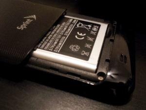 Sprint Destroys S2 Battery